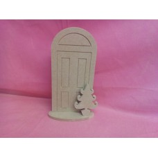6mm MDF Standing Christmas front door
